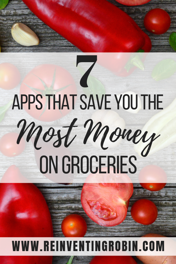 Save money while shopping at the grocery store with these 7 mobile apps!