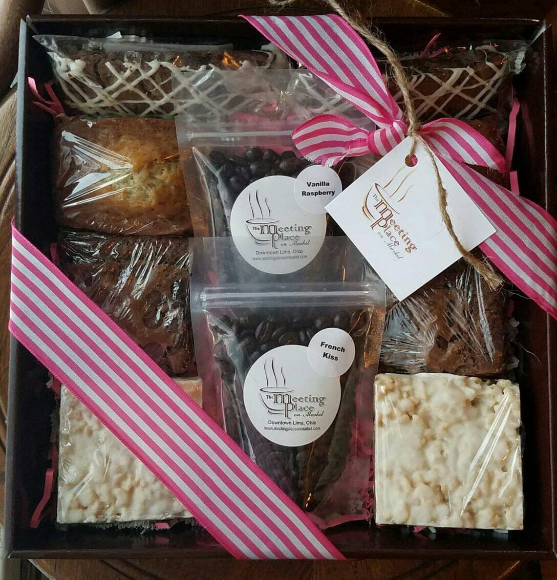 Gourmet Mother's Day Gift Basket by Meeting Place Coffee